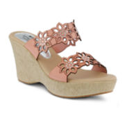 Spring Step Finn Slide Wedge Sandals