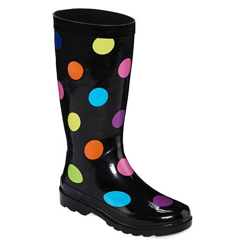 Towne By London Fog Jasper Women's Rubber Rain Boots