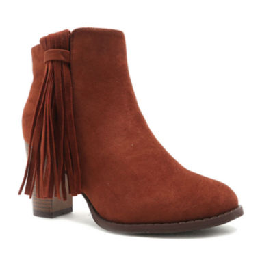 jcpenney.com | Qupid Margo Fringe Ankle Booties