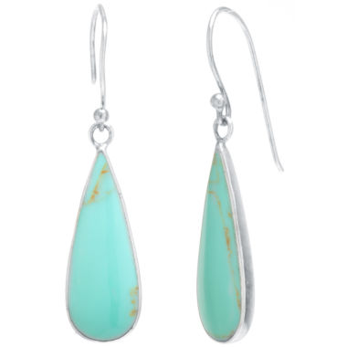 jcpenney.com | Silver Treasures Blue Drop Earrings