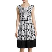 Tiana B. Fit-and-Flare Dress - Tall