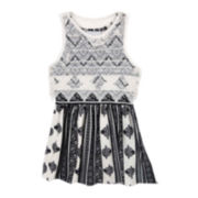 Rare Editions Sleeveless Lace Popover Dress - Preschool Girls 4-6x