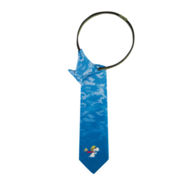 jcpenney.com | Peanuts Flying Ace Pre-Tied Zipper Tie - Boys