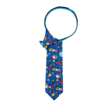jcpenney.com | Peanuts Boys Out Of This World Zipper Tie - Boys