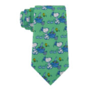 Peanuts Snoopy with Cart Tie - Boys