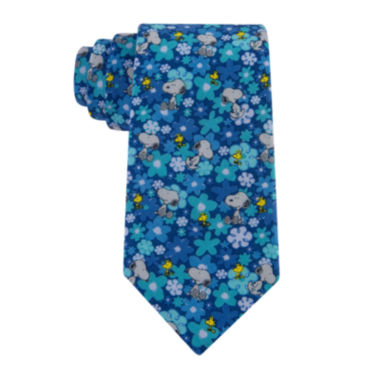 jcpenney.com | Peanuts Snoopy Floral Tie - Boys