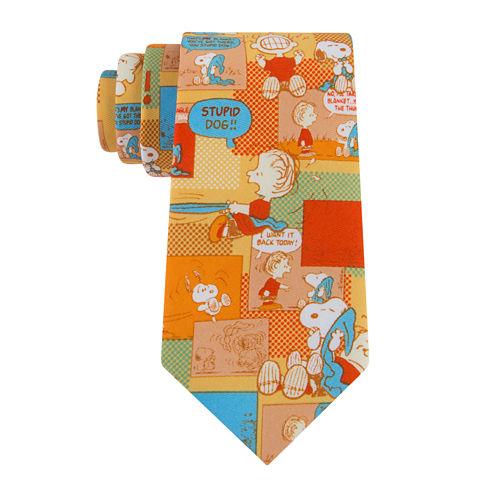 Peanuts Snoopy Vs. Linus Tie - Boys