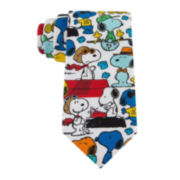 Peanuts Snoopy Different Poses Tie - Boys