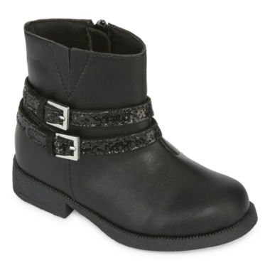 jcpenney.com | Okie Dokie® Napa Girls Booties - Toddler