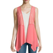 Self Esteem® Tank with Vest Jacket