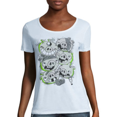 jcpenney.com | Angry Birds Short-Sleeve Tee - Juniors