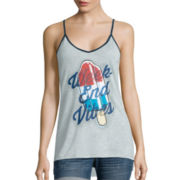 Americana Ringer Tank Top - Juniors