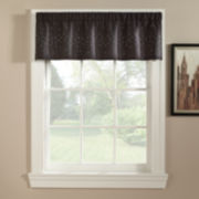 Bling Rod-Pocket Tailored Valance