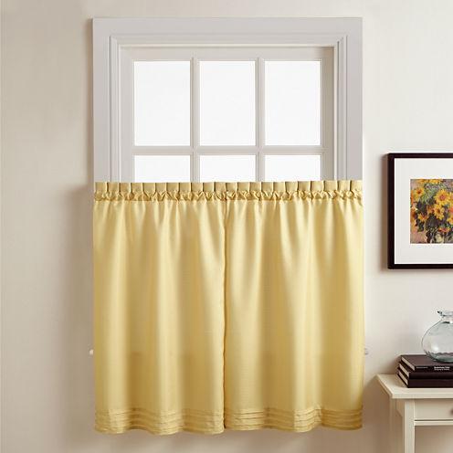 Kylie Rod-Pocket 2-pk. Window Tiers