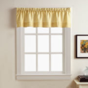Kylie Rod-Pocket Pleated Valance
