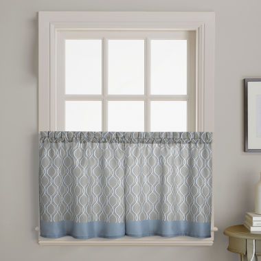 jcpenney.com | Morocco 2-Pack Rod-Pocket Window Tiers