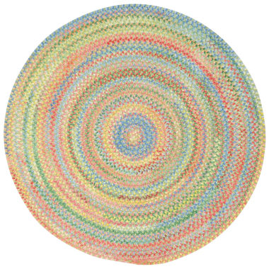 jcpenney.com | Capel Baby's Breath Reversible Braided Round Rug