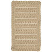 Capel Boathouse Indoor/Outdoor Reversible Braided Oval Rug