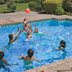 Poolmaster Splashback Basketball/Volleyball Game Combo
