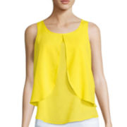 Bisou Bisou® Tiered Draped Top