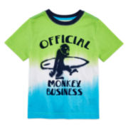 Arizona Short-Sleeve Monkey Business Tee - Preschool Boys 4-7