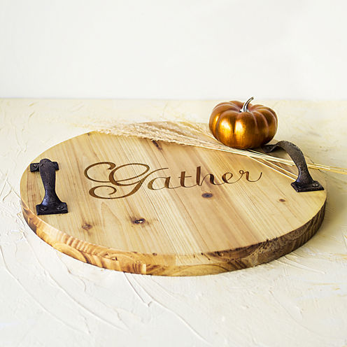 Cathy's Concepts Gather Wood Serving Board