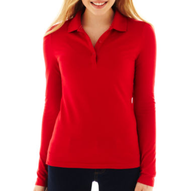 jcpenney.com | Arizona Long-Sleeve Polo Shirt