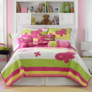 CLOSEOUT! Nara Butterfly Quilt & Accessories