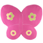 CLOSEOUT! Nara Butterfly Decorative Pillow