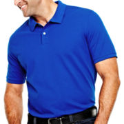 The Foundry Supply Co.™ Solid Piqué Polo Shirt – Big & Tall