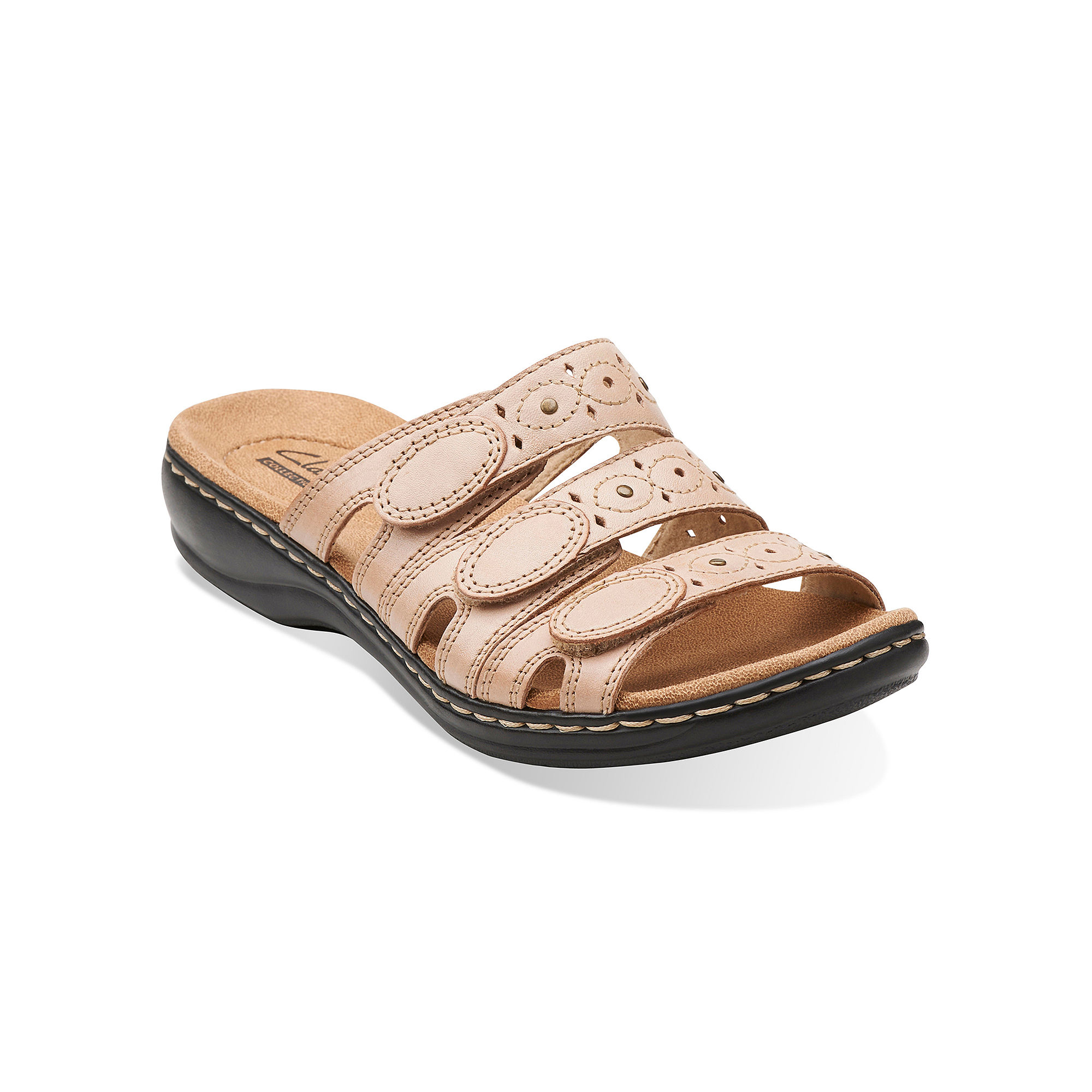 85d358e4f36ea ... UPC 889303109791 product image for Clarks Leisa Cacti Womens Open-Toe  Leather Sandals