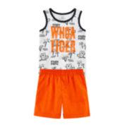 Okie Dokie® Striped Tank Top or Shorts - Baby Boys newborn-24m
