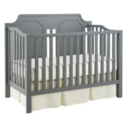 Savanna Carli Convertible Crib - Grey