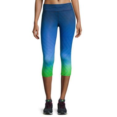 jcpenney.com | Xersion™ Printed No Side Seam Capris - Tall