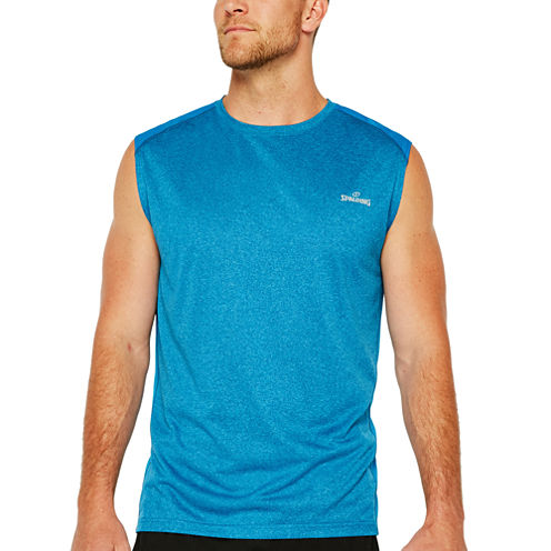 Spalding Double Dyed Heather Muscle T-Shirt