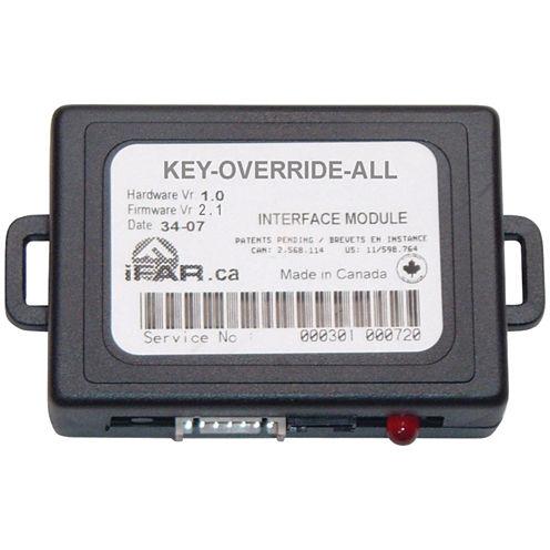 CrimeStopper Security Products KEYOVERRIDEALL KeyOverride Databus Data Port