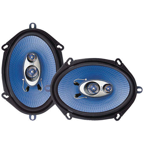 Pyle PL573BL Blue Label Speakers (5IN x 7IN; 3 Way)
