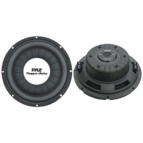 Pyle PLWCH10D Chopper Series Shallow-Mount Subwoofer (10IN; 1;000 Watts)