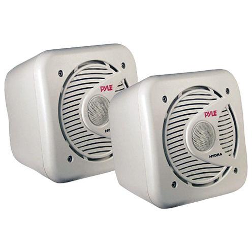Pyle PLMR53 Hydra Series 2-Way Shielded Marine Waterproof Speaker (5.25IN; 150 Watts)