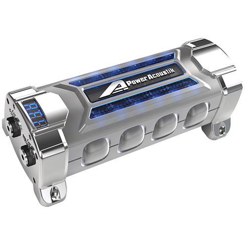 Power Acoustik PCX-3F 3-Farad Digital Capacitor