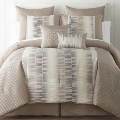 Studio Tempo 6-pc. Comforter Set