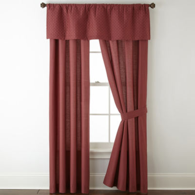 Linden Street Artisan Rod-Pocket Curtain Panels