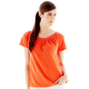 Joe Fresh™ Crochet-Trim Tee