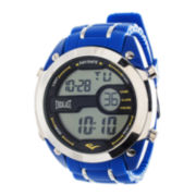 Everlast® Mens Blue Silicone Strap Watch