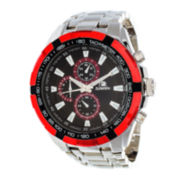 Zunammy® Mens Silver-Tone Watch