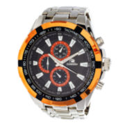 Zunammy® Mens Silver-Tone Watch