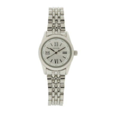 jcpenney.com | Womens Silver-Tone Dial Silver-Tone Bracelet Watch