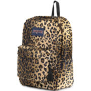 Jansport® High Stakes Plush Cheetah Backpack