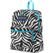Jansport® Over Exposed Blue Zebra Backpack