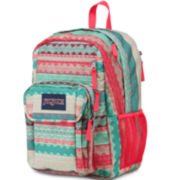 Jansport® Digitial Big Student Boho Stripe Backpack